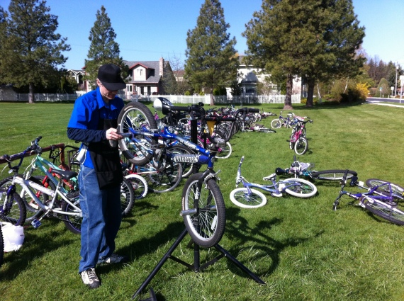 Free Bike Tune-ups -May 2013 (13)